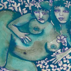 """Night Garden"" from Pregnancy Series"