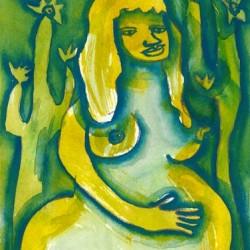 """Desert Mama"" from Pregnancy Series"