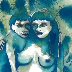 """Night Gaze"" from Pregnancy Series"