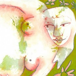 """""""Green Woman"""" from Pregnancy Series"""