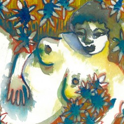 """""""Mama in the Garden"""" from Pregnancy Series"""