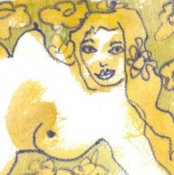 """Garden Flowers"" from Pregnancy Series"